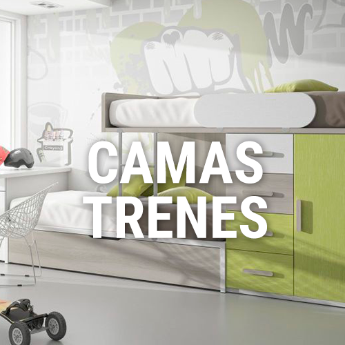 Camas Trenes - Mobles Valles