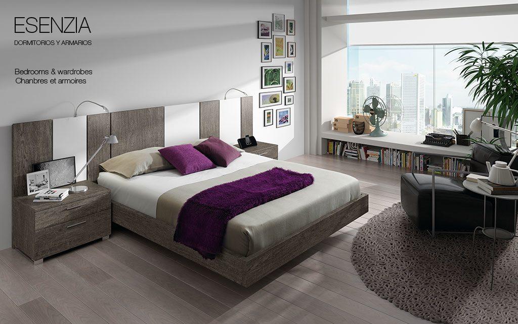 Cabeceros modernos con led for Dormitorios completos baratos